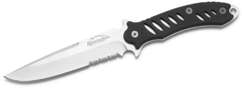 Remington F.A.S.T. Fixed Stainless Steel Knife ( Matte Black), Outdoor Stuffs