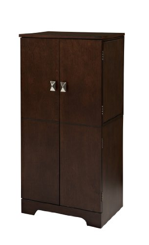 (Linon Home Dcor 55235ESP-01-KD-U Linon Home Decor Victoria Jewelry Armoire, 40