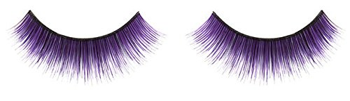 Zinkcolor Mystic Purple False Synthetic Eyelashes E024 Dance Halloween Costume]()