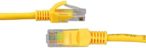 Cables Occus New 1-30M Yellow External Network Ethernet Cable CAT5e 100/% Copper RJ45 18Mar29 Cable Length: 20m, Color: White