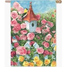 Rosewood Manor Decorative Garden Flag