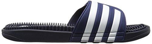 Adidas Heren Adissage Sandaal, Lopen Wit / Grafiet / De In Werking Wit, 10 M Nieuw Marine / New Navy / Hardlopen Wit
