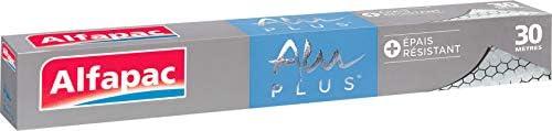 Alfapac Aluminiumfolie, geprägt, 30 m, 3 Stück