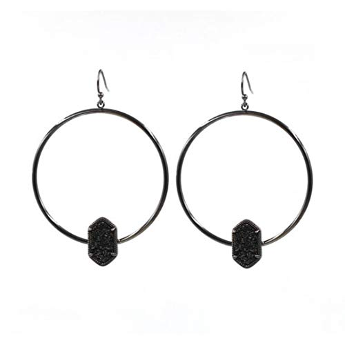 Circle Drop Earings Fashion Jewelry Cute Multicolor Oval Holiday Round Simple Pendant Earrings for Women