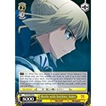 Weiss Schwarz - Battle with Soichiro, Saber - FS/S34-E008 - R (FS/S34-E008) - Fate/stay night [Unlimited Blade Works] Booster