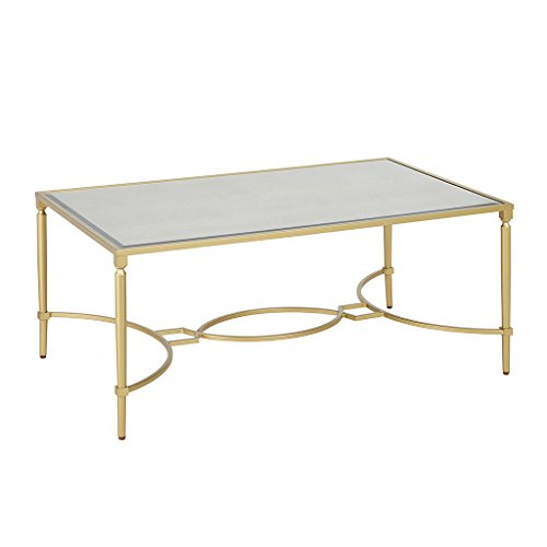 - Turner Coffee Table Antique Gold See Below