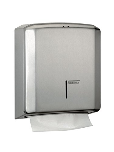 Mediclinics DT2106C  –   Stainless Paper Towel Dispenser DT2106CS
