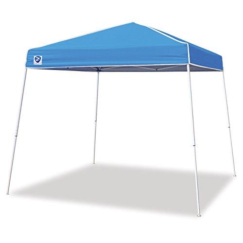 Z-Shade 10' x 10' Angled Leg Instant Canopy Tent Portable Shelter, Carolina Blue