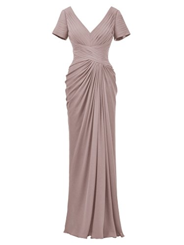 of Prom Alicepub Evening Gown Plus Dress Sleeve Bride with Mother The Sliver Size Pink Dress Szw1qzd