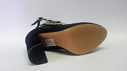 Nero Cinturini Caviglia Foto Liu Vedi Post Jo 10 67091 Decollete Tacco Camoscio Cerniera IXCOwx