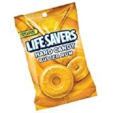 LifeSavers Butter Rum Candy - 6.25 oz. bag, 12 per case