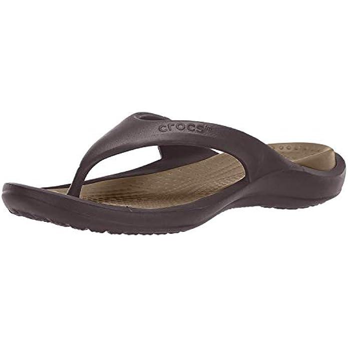 Crocs Men's and Women's Athens Flip Flop | Water Shoes | Beach Sandals