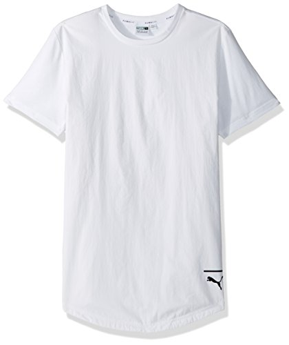 PUMA Men's EVO Long T-Shirt, White, L