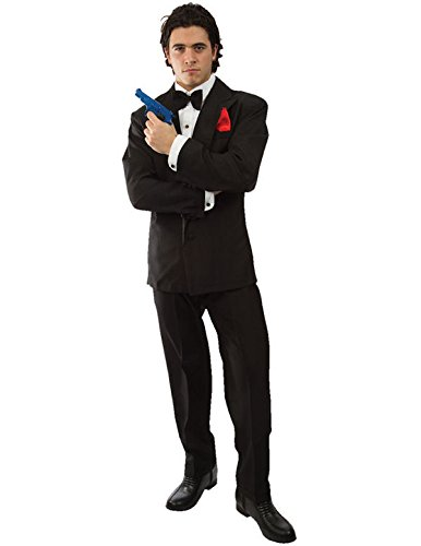 007 James Bond Adult Costume, Standard