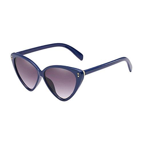 Lente Marca Degradado de Eye Mujer Eyewear Designer Sol Cat de UV400 Acetato Marcos de E E Nueva Moda Hombre Gafas Burenqi cW1paT04