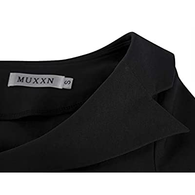 MUXXN Women's Classic Vintage Sweetheart Neckline Cocktail Prom Tea Dress: Clothing