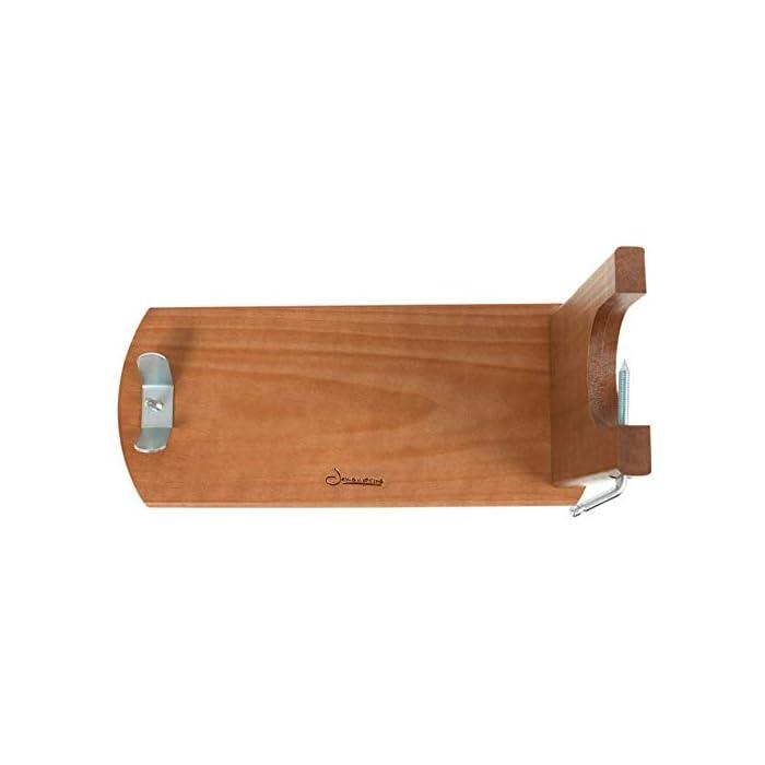 31q8EKmQyeL Tipo de accesorio: Soportes jamoneros El jamonero Banqueta de Jamonprive está fabricado en madera de pino. La tabla mide 40 x 16 x 1, 8 cm, y el brazo está fabricado con madera FSC.