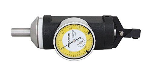 0-0.15 x 0.0005 Graduation Co-Ax Indicator Yellow Dial Face AccusizeTools Ltd. Coaxial Centering JD21-0003 Accusize Co