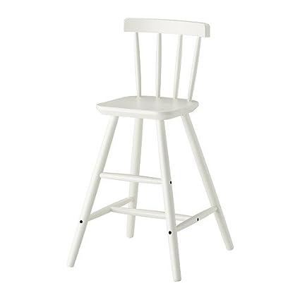 Ikea AGAM - silla Junior, blanco: Amazon.es: Hogar