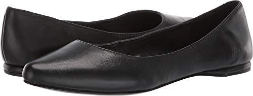 Nine West Women's Speakup Flat Black 6.5 M US (Woman Shoes Flat Nine West)