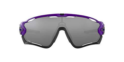 Oakley Men's Standard Issue Jawbreaker Infinite Hero Collection Sunglasses,OS,Electric Purple/Prizm Black