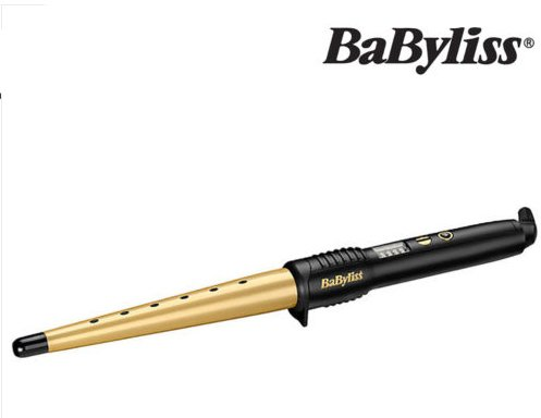 BaByliss 2285DU Smooth Vibrancy Curling Wand Gold 39W With 5 Heat Settings