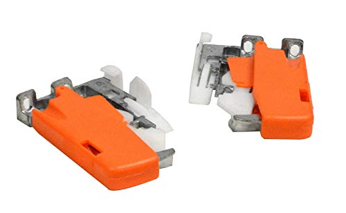 Silverline SFUS Zinc Trigger for Drawer Slide 75 lb for Face Frame Cabinet Hardware 6 Pairs
