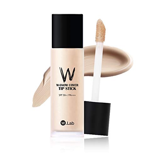 [W.Lab] W-SNOW COVER TIP STICK 21. COVER LIGHT, 40ml, Foundation, Concealer