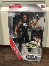 WWE, Elite Collection Then Now Forever, The Rock Exclusive Action Figure (The Rock Elite Figure Action)