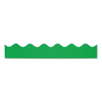 (Pacon Bordette(R) Scalloped Border, Apple Green)