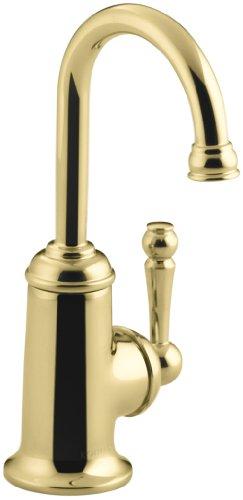 KOHLER K-6666-PB Wellspring Beverage Faucet, Vibrant Polished - Kitchen Faucet Brass Pb Polished