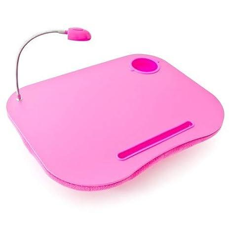 Amazon.com: Relaxdays portátil bandeja Lapdesk rodilla mesa ...