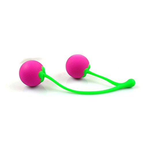 Healthy Care Premium Charming Medical Silicone Cherries Kegel Balls Exerciser for Women Pleasure