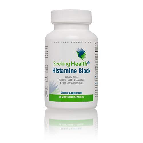 Enzyme Food Supplement - Seeking Health   Histamine Block   DAO Supplement Enzyme   Food Intolerance   Histamine Intolerance   GI Tract Supplements   Dhist 60 Capsules