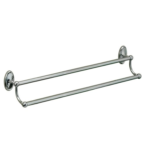 50%OFF Gatco 4624 Camden 5/8-Inch Diameter Double Towel Bar, 24-Inch, Chrome
