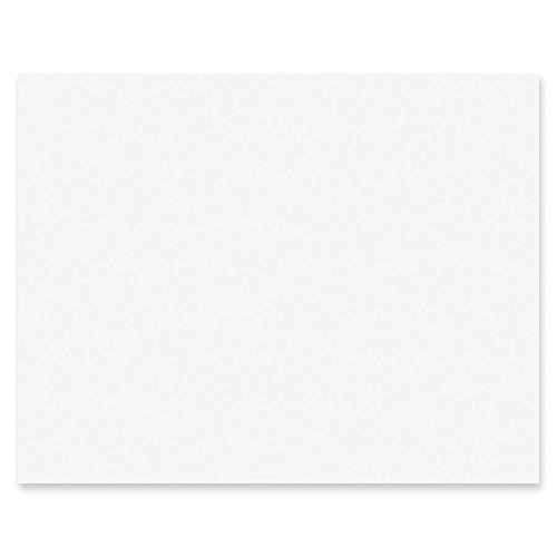 Paper Poster Board (Pacon PAC5460 4-Ply Railroad Board, White, 22