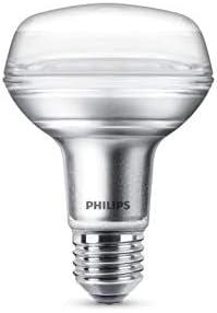 Philips LEDclassic Lampe, ersetzt 60W, E27, R80, Warmweiß