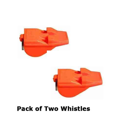 ACME Lot de Deux Tornado Day Glo Orange Whistles-The la Plus puissante du Monde Sifflet