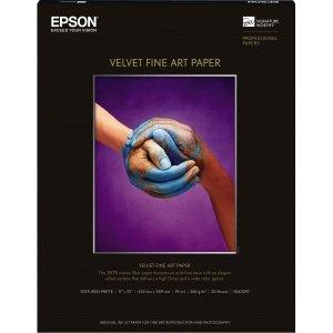 PAPER, 17 X 22 VELVET FINE ART by Epson
