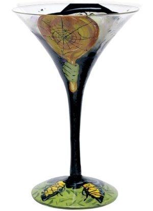 Lolita Halloween I'm So Pretty Witch Love My Martini Glass ()