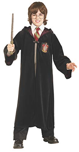 Rubie's Premium Harry Potter Child's Velvet Costume Robe with Gryffindor Emblem, Medium ()