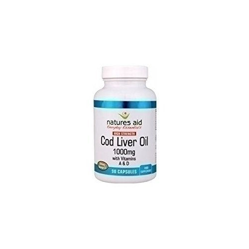 (4 PACK) - Natures Aid - Cod Liver Oil 1000mg | 90's | 4 PACK BUNDLE by Natures Aid by Natures Aid