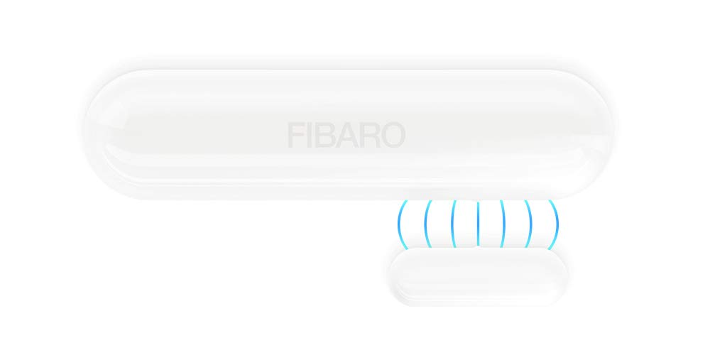 Fibaro FGDW-002-3 Negro