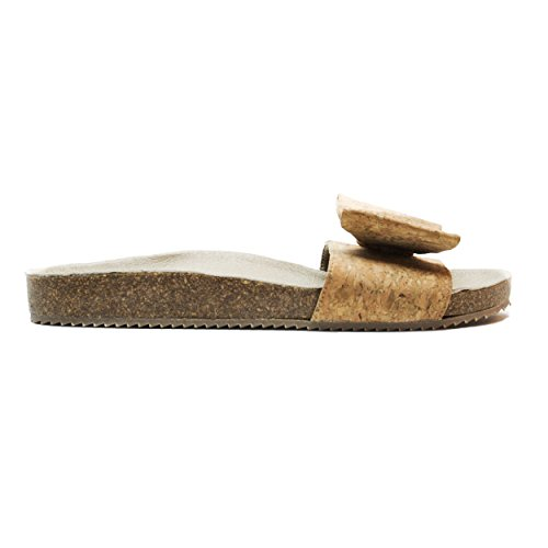 nae Monik Cork - Women Vegan Sandals   Made of Cork with Ecological, Breathable and Anti-Allergy Microfiber
