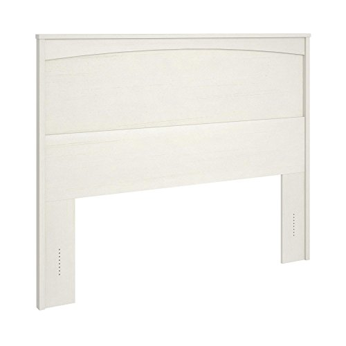 Ameriwood Home Crescent Point Full Size Headboard, Vintage White