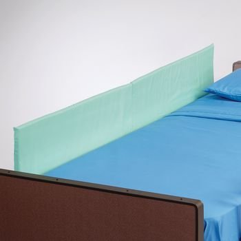 Rolyan Side Rails, for Full Size Beds, 72'' x 15'' x 1'', Foam Padded Bed Walls to Protect from Falling, Used with Bed Railings to Cover Holes Between Rails and Pad Rails to Soften Them