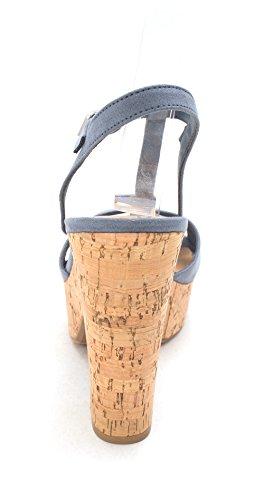 American Femme Sandales Rag Soft Blue 8AfAq06X