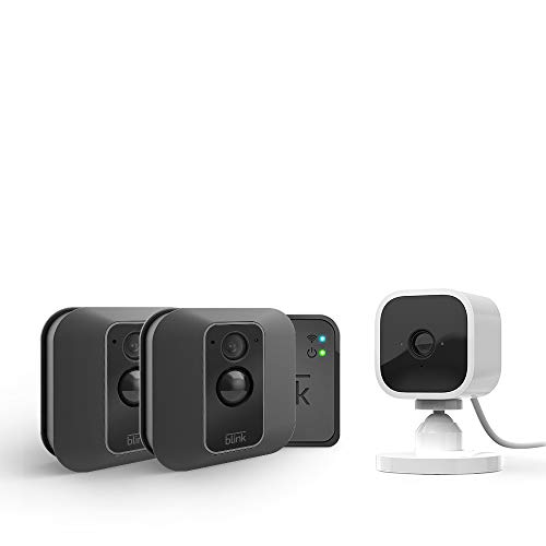 Blink Mini with Blink XT2 Outdoor/Indoor Smart Security Camera - 2 camera kit