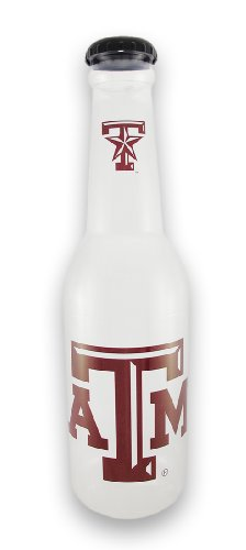 Plastic Toy Banks Texas A + M University Aggies Jumbo Bottle Coin Bank 21 In. 6 X 21 X 6 Inches Multicolored (Games Football Tickets College)