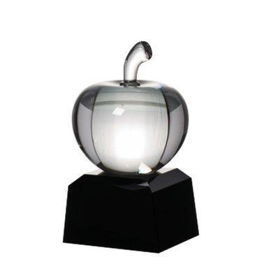 Teacher Crystal Award - Teacher Glass Trophy with Free Engraving Prime